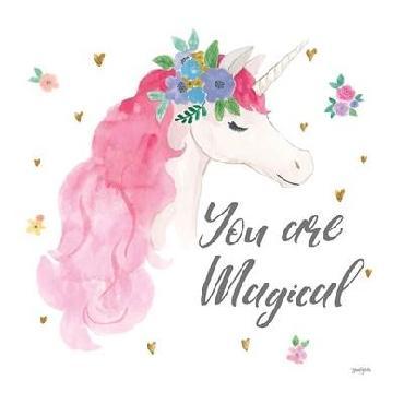 Jenaya Jackson Magical Friends III You Are Magical Canvas