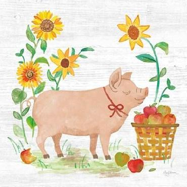 Mary Urban Farm Market IV Canvas
