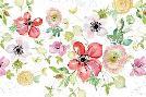 Kristy Rice Spray Of Anemones I