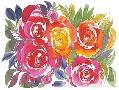 Kristy Rice Bold Roses I
