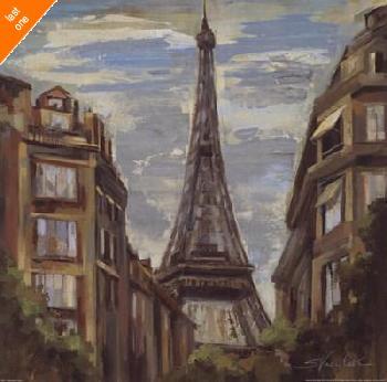 Silvia Vassileva A Moment In Paris I Canvas LAST ONES IN INVENTORY!!