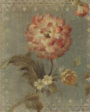 Danhui Nai Poppy On Sage Canvas