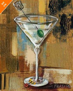 Silvia Vassileva Classic Martini IV NO LONGER IN PRINT - LAST ONE!!