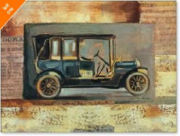 Silvia Vassileva Vintage Car III NO LONGER IN PRINT - LAST ONE!!