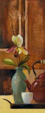 Silvia Vassileva Green Tea II Canvas