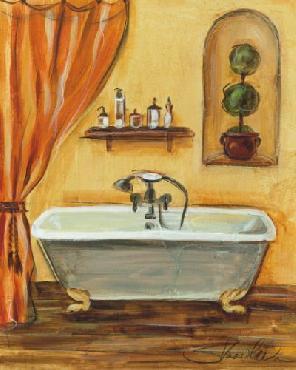 Silvia Vassileva Tuscan Bath I