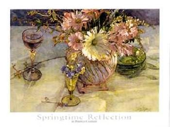 Deborah Chabrian Springtime Reflection Canvas