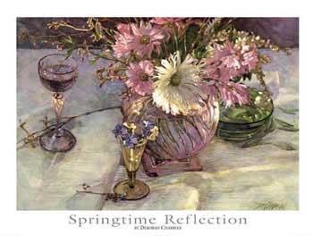 Deborah Chabrian Springtime Reflection