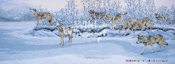 Lee Kromschroeder On the Move - Wolves Artist