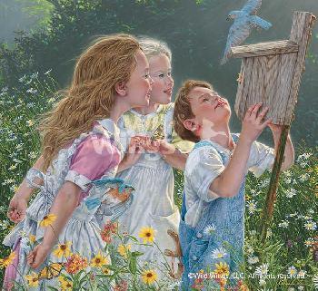 Lee Kromschroeder Peeping Toms - Kids Artist