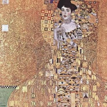 Gustav Klimt Portrait Of Adele Bloch - Bauer I, 1907 Canvas