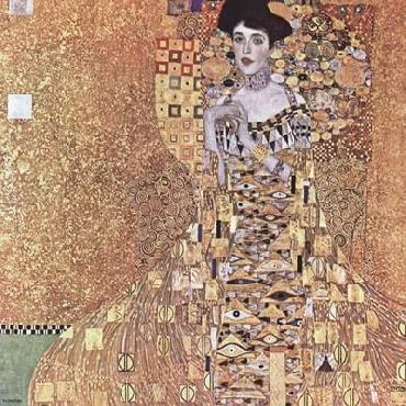 Gustav Klimt Portrait Of Adele Bloch - Bauer I, 1907