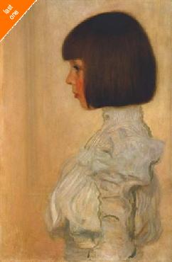 Gustav Klimt Portrait Of Helene Klimt Canvas LAST ONES IN INVENTORY!!