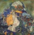 Klimt Baby (cradl) Canvas