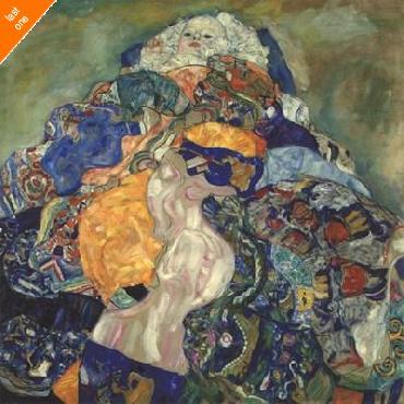 Gustav Klimt Baby (cradl) Canvas LAST ONES IN INVENTORY!!