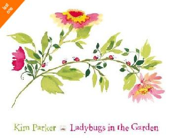 Kim Parker  Lady Bugs In The Garden   LAST ONES IN INVENTORY!!