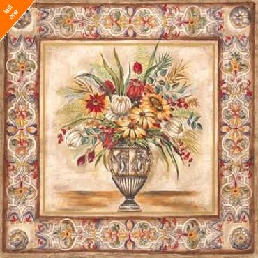 Ruth Franks Floral Tapestry I   LAST ONES IN INVENTORY!!