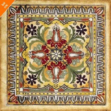 Ruth Franks  Italian Tile II   LAST ONES IN INVENTORY!!