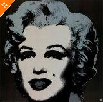 Andy Warhol Marilyn Monroe, 1967 (black) NO LONGER IN PRINT - LAST ONES!!