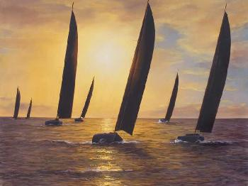 Diane Romanello Into the Sunset Artist