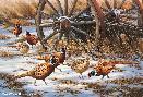 Rosemary Millette Winter Rendezvous - Pheasants