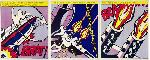 Roy Lichtenstein As I Opened Fire I II III Set of 3 Panels