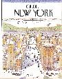 Anonymous Olde New York (small) Offset Lithograph Edition of 10000