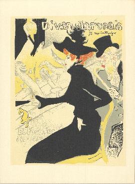 Henri De Toulouse-lautrec Divan Japonais Lithograph