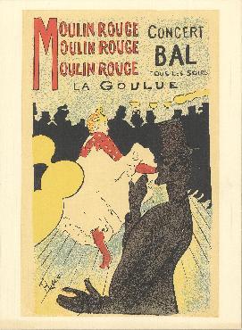 Henri De Toulouse-lautrec Moulin Rouge Lithograph