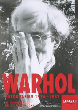 Andy Warhol Self-portrait Offset Lithograph Edition of 1000