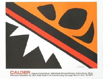 Alexander Calder La Grenouille Et La Scie Lithograph Edition of 2000