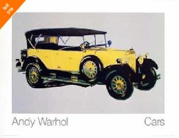 Andy Warhol Mercedes Type 400 NO LONGER IN PRINT - LAST ONE!!