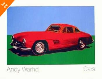 Andy Warhol 300 SL Coupe NO LONGER IN PRINT - LAST ONE!!