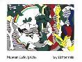 Roy Lichtenstein Landscape with Figures, 1980