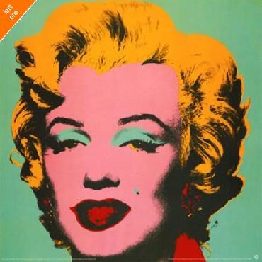 Andy Warhol Marilyn Green NO LONGER IN PRINT - LAST ONE!!