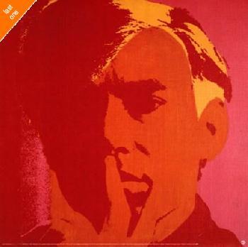 Andy Warhol Self Portrait Orange NO LONGER IN PRINT - LAST ONES!!