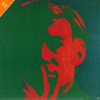 Andy Warhol Self Portrait 1966-67 NO LONGER IN PRINT - LAST ONES!!