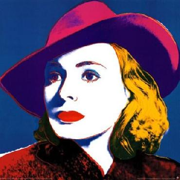 Andy Warhol Ingrid with Hat Offset Lithograph Edition of 2500