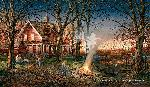 Terry Redlin Autumn Evening