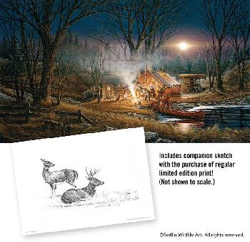 Terry Redlin Campfire Tales Artist