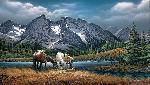 Terry Redlin For Purple Mountain Majesties