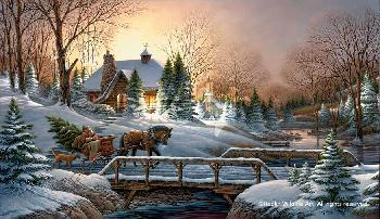 Terry Redlin Heading Home Legacy Canvas