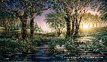 Terry Redlin Morning on the Greens