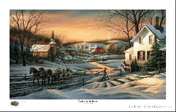 Terry Redlin Together for the Season Numbered Only Limited Edition