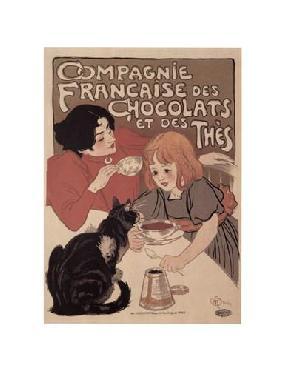Theophile Alexandre Steinlen Compagnie Francaise Des Chocolats