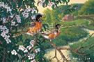 Michael Sieve Apple Blossom Time - Robins