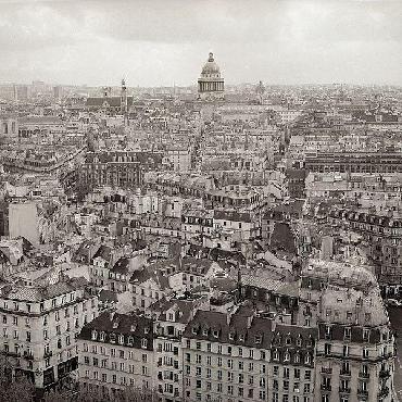Alan Blaustein Above Paris #24
