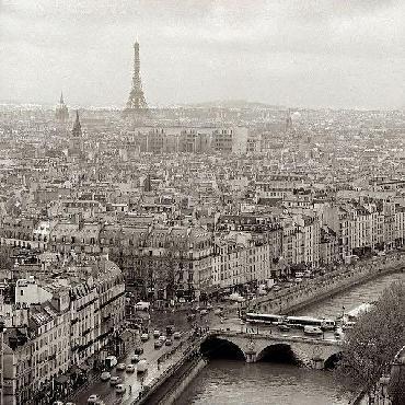 Alan Blaustein Above Paris #25 Canvas