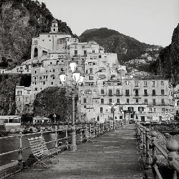 Alan Blaustein Amalfi Pier #1