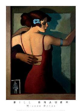 Bill Brauer Mirror Dance